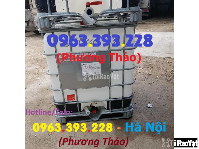 Bán bồn nhựa 1 khối đã qua sử dụng, tank nhựa 1000L - 2/3