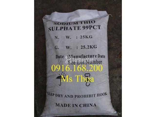 Sodium Thiosulphate giúp khử clorine và giảm kim loại nặng - 1/2