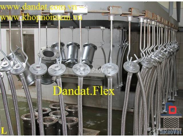 Ống mềm cho đầu phun chữa cháy, ống mềm inox 304, ống mềm giảm chấn mb - 1/6