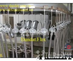Ống mềm cho đầu phun chữa cháy, ống mềm inox 304, ống mềm giảm chấn mb - Hình ảnh 1/6