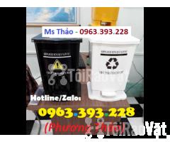 Thùng rác 15L đạp chân, Thùng rác HDPE, Thùng rác y tế cao cấp - Hình ảnh 3/3