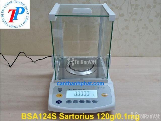 Cân điện tử BSA124S Sartorius Đức, 120g/0.0001g - 1/1