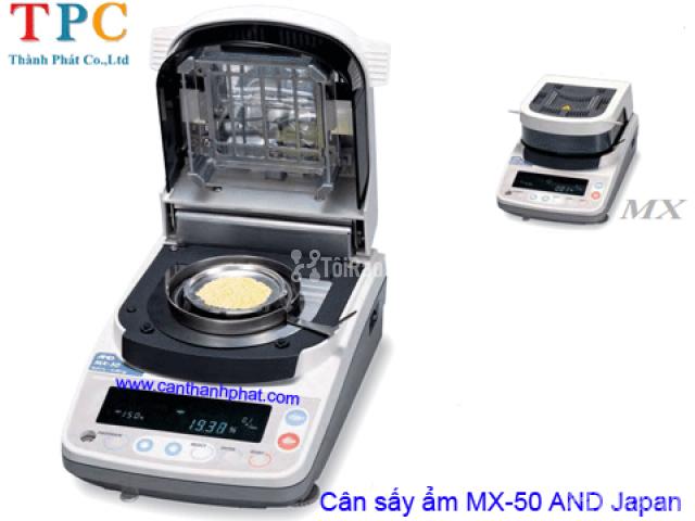 Cân sấy ẩm điện tử MX-50 AND Nhật Bản - 1/1