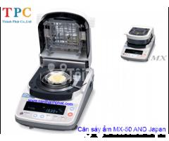 Cân sấy ẩm điện tử MX-50 AND Nhật Bản