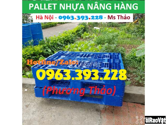 Bán Pallet nhựa nâng hàng, Pallet nhựa đã qua sử dụng - 3/3