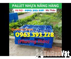 Bán Pallet nhựa nâng hàng, Pallet nhựa đã qua sử dụng - Hình ảnh 3/3