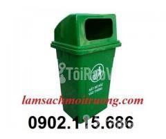 Thùng rác nhựa 90 lít, thùng rác công cộng 90 lít, thùng đựng rác y tế - Hình ảnh 2/3