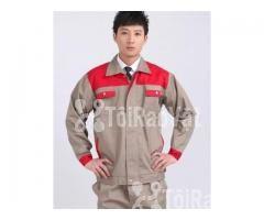 Thiết kế và may theo yêu cầu đồng phục công nhân