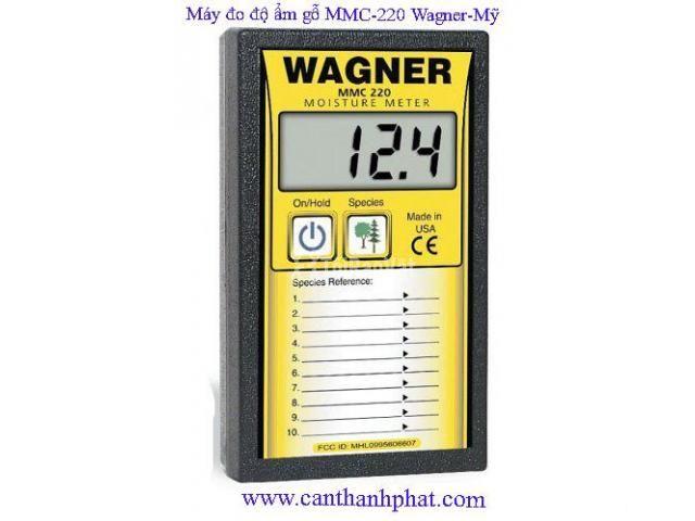 Máy đo độ ẩm cầm tay cho gỗ MMC-220 Wagner Mỹ - 1/1