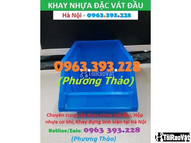 Chuyên cung cấp Khay nhựa đựng linh kiện vát đầu, Hộp nhựa cơ khí - 3/3