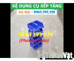 Kho bán Khay nhựa đựng linh kiện có tắc kê chống tầng - Hình ảnh 1/3