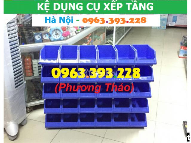 Kho bán Khay nhựa đựng linh kiện có tắc kê chống tầng - 2/3