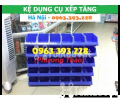 Kho bán Khay nhựa đựng linh kiện có tắc kê chống tầng - Hình ảnh 2/3