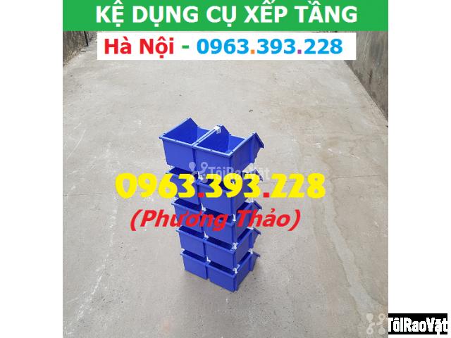 Kho bán Khay nhựa đựng linh kiện có tắc kê chống tầng - 3/3