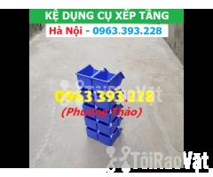 Kho bán Khay nhựa đựng linh kiện có tắc kê chống tầng - Hình ảnh 3/3