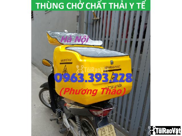 Cung cấp Thùng chở chất thải y tế sau xe máy tại Hà Nội - 2/3