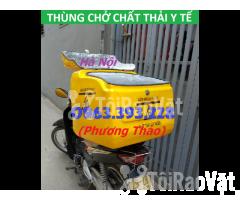 Cung cấp Thùng chở chất thải y tế sau xe máy tại Hà Nội - Hình ảnh 2/3