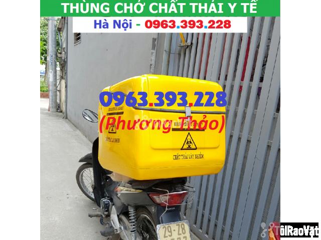 Cung cấp Thùng chở chất thải y tế sau xe máy tại Hà Nội - 3/3