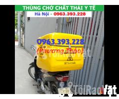 Cung cấp Thùng chở chất thải y tế sau xe máy tại Hà Nội - Hình ảnh 3/3