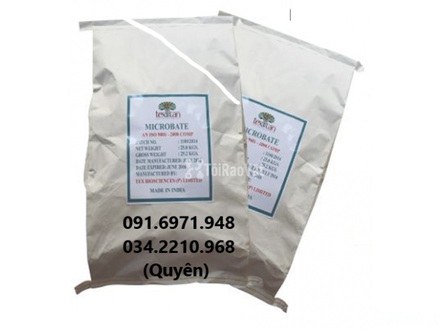 Mua bán enzyme cắt tảo, xử lý khí độc đáy ao Microbate, Microzyme  - 1/2