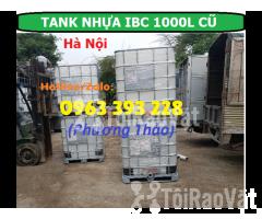 Bán Tank nhựa IBC 1000L cũ, bồn nhựa 1 khối đã qua sử dụng tại Hà Nội - Hình ảnh 2/3