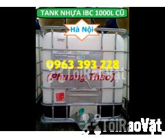 Bán Tank nhựa IBC 1000L cũ, bồn nhựa 1 khối đã qua sử dụng tại Hà Nội - Hình ảnh 3/3