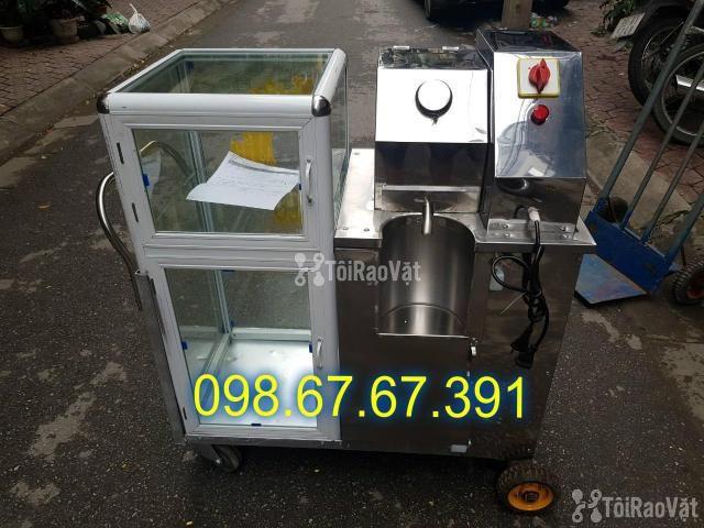 Máy ép nước mía siêu sạch, xe nước mía motor 1500w siêu khỏe - 2/4