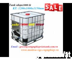 Thùng IBC TANK 1000L