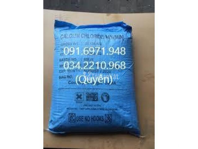 Khoáng tạt Canxi clorua, CaCl2 dạng hạt Ấn Độ giá sỉ - 1/1