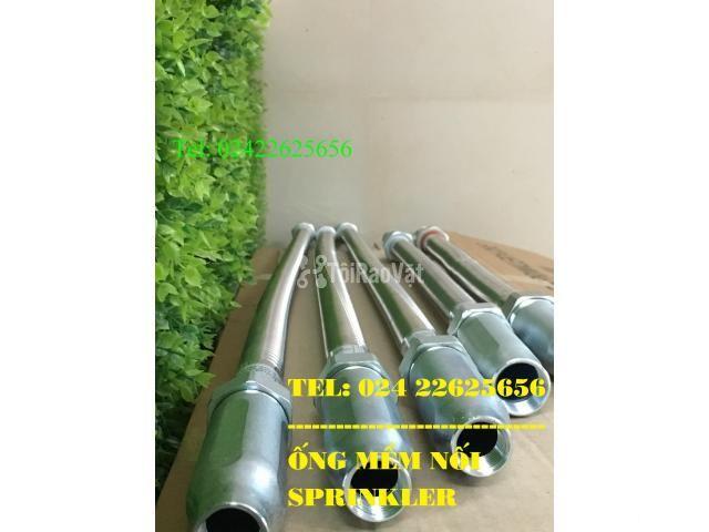 Dây INOX kết nối đầu phun sprinkler - đạt 16bar - chứng chỉ LPCB/FM/UL - 3/6