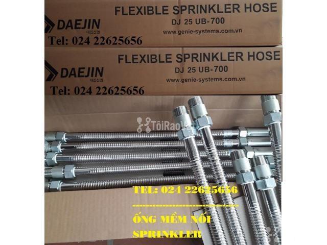 Dây INOX kết nối đầu phun sprinkler - đạt 16bar - chứng chỉ LPCB/FM/UL - 4/6