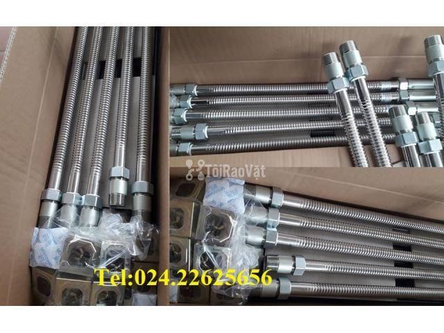 DJ25Ub1000 - Dây mềm Inox nối đầu phun sprinkler- Daejin - 1000mm - 1/6