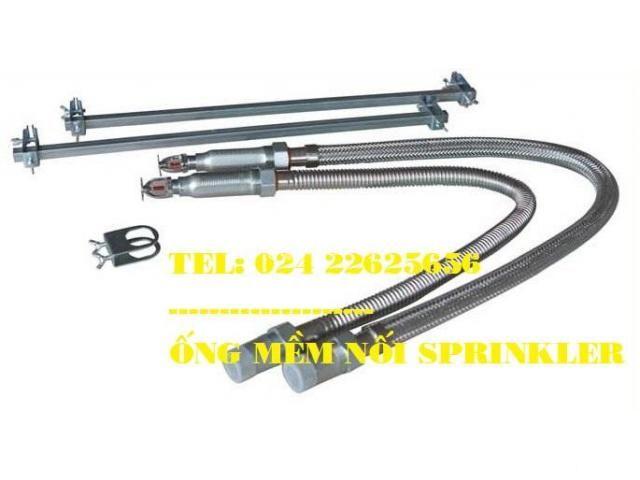 DJ25Ub1000 - Dây mềm Inox nối đầu phun sprinkler- Daejin - 1000mm - 2/6