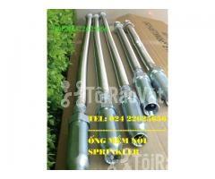 1200mm - Ống Dẻo INOX nối SPRINKLER chữa cháy – DJ25UB1200 – Daejin - Hình ảnh 1/6