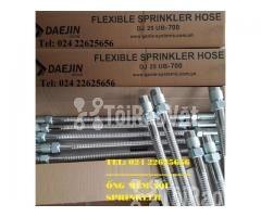 1200mm - Ống Dẻo INOX nối SPRINKLER chữa cháy – DJ25UB1200 – Daejin - Hình ảnh 6/6