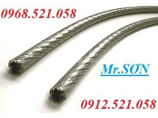 Cáp inox 304 bọc nhựa 10 mm (0968.521.058) Bán cáp bọc nhựa đen 10 ly. - 1/6