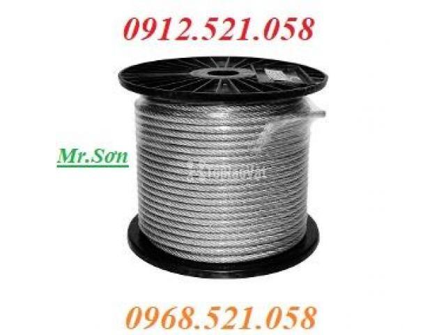 Cáp inox 304 bọc nhựa 10 mm (0968.521.058) Bán cáp bọc nhựa đen 10 ly. - 2/6