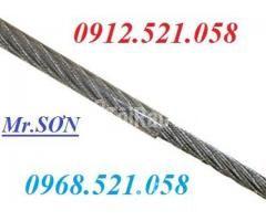 Cáp inox 304 bọc nhựa 10 mm (0968.521.058) Bán cáp bọc nhựa đen 10 ly. - Hình ảnh 3/6