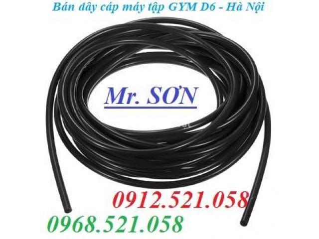 Cáp inox 304 bọc nhựa 10 mm (0968.521.058) Bán cáp bọc nhựa đen 10 ly. - 5/6