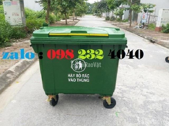 Thùng rác HDPE 660 lít - 1/1