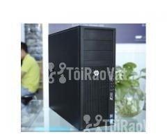 Máy tính HP z420 workstation cpu 4 core VGA Quadro 2000 1GB 5.720.000 - Hình ảnh 1/4