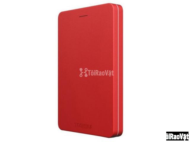Ổ cứng di động Toshiba Canvio Alumy 1TB - red 1.349.000₫ - 1/4