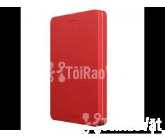 Ổ cứng di động Toshiba Canvio Alumy 1TB - red 1.349.000₫ - Hình ảnh 1/4