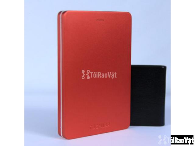 Ổ cứng di động Toshiba Canvio Alumy 1TB - red 1.349.000₫ - 2/4