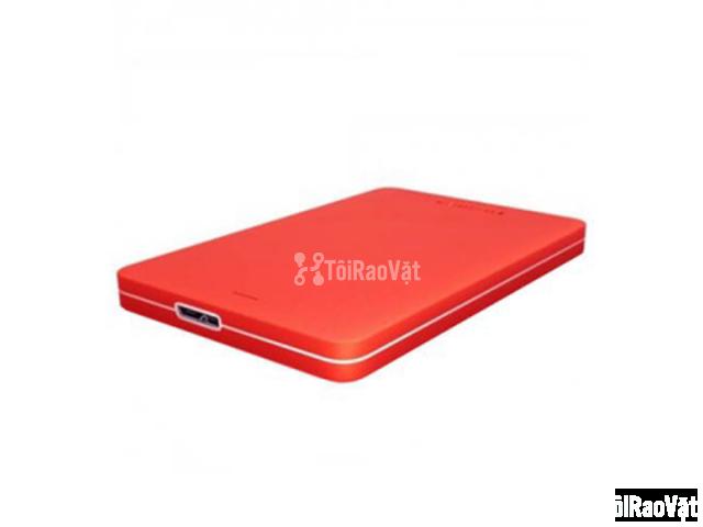 Ổ cứng di động Toshiba Canvio Alumy 1TB - red 1.349.000₫ - 4/4