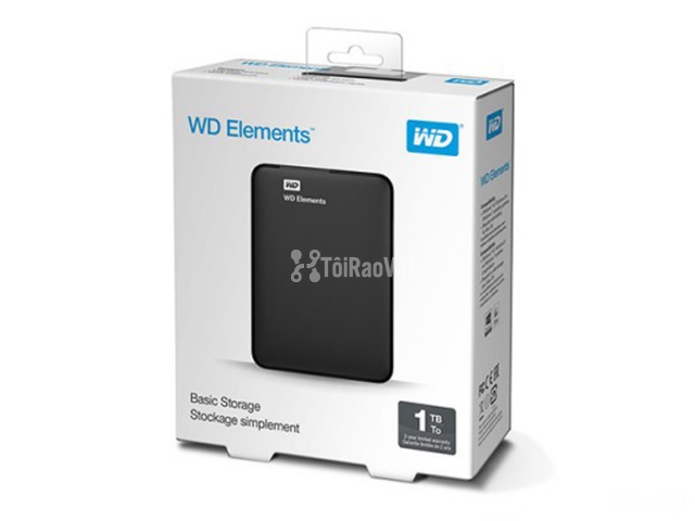 Ổ Cứng WD Elements 1Tb 2.5 inch USB 3.0 Portable 1.415.000₫ - 3/3