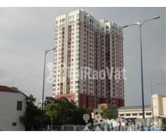 cho thuê gấp căn hộ Phúc Thịnh đường cao đạt Quận 5, Dt : 76 m2, 2PN