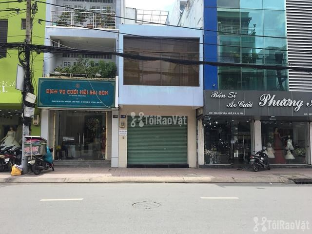 Cho thuê nhà nguyên căn MẶT TIỀN đường Hồ Văn Huê, P.9, Q.Phú Nhuận - 1/4