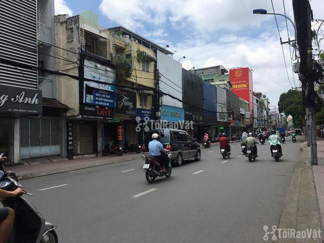 Cho thuê nhà nguyên căn MẶT TIỀN đường Hồ Văn Huê, P.9, Q.Phú Nhuận - 2/4