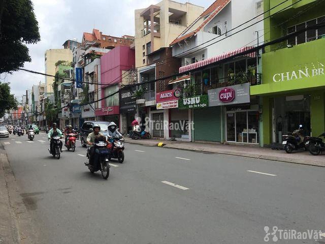 Cho thuê nhà nguyên căn MẶT TIỀN đường Hồ Văn Huê, P.9, Q.Phú Nhuận - 3/4